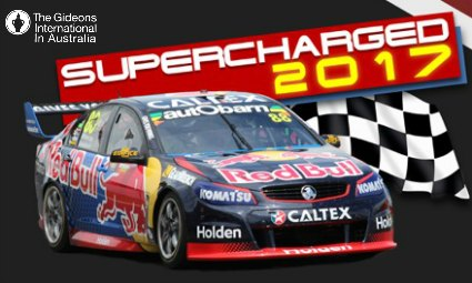 Help Gideons during the Newcastle 500 V8 Supercars Event!